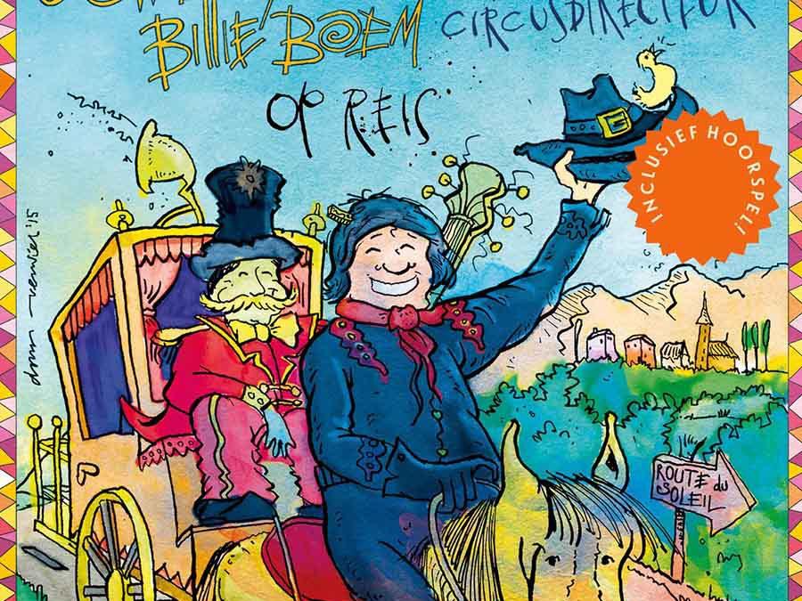 Boek met cd 'Cowboy Billie Boem en de circusdirecteur op reis'